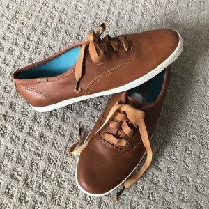 NWOT! Keds Champion Leather Sneakers